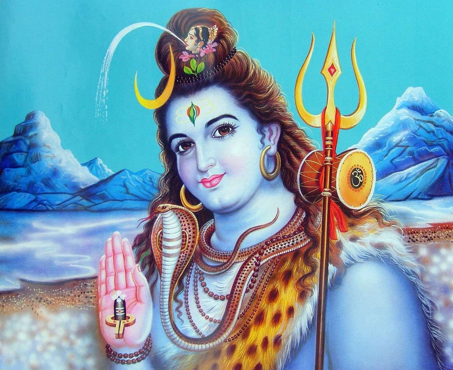 Shiva Wallpaper In Hd: Best 3,487+ {God HD Images} Hindu God Wallpapers For