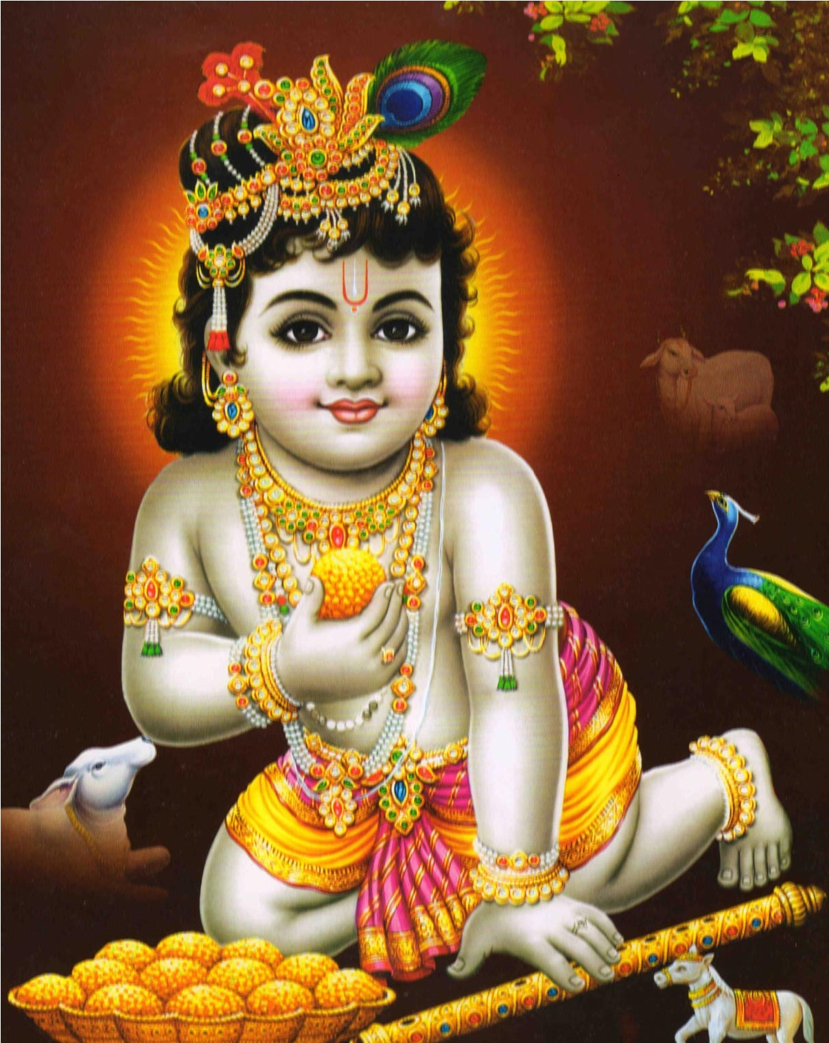 Wallpaper download krishna bhagwan - Cute Shri Krishna