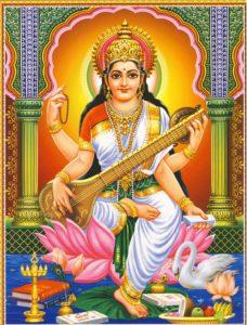 Saraswati Godess Wallpaper