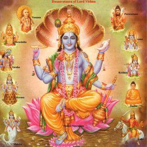 Vishnu Bhagwan Wallpaper