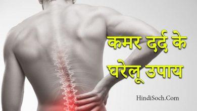 Photo of पीठ व कमर के दर्द का घरेलू इलाज | Back Pain Home Treatment in Hindi