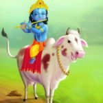 Animated Lord Krishna Images for Wallpaper