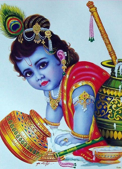 Art Cute Krishna Lord Krishna HD Krishna Poster Photo