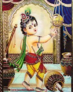 Baby Krishna Wallpaper Hd