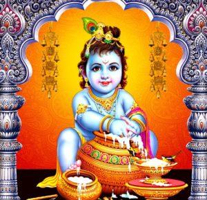 Baby Shree Krishna Images