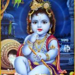Child Krishna Hindu God Krishna Bhagwan Photo Download