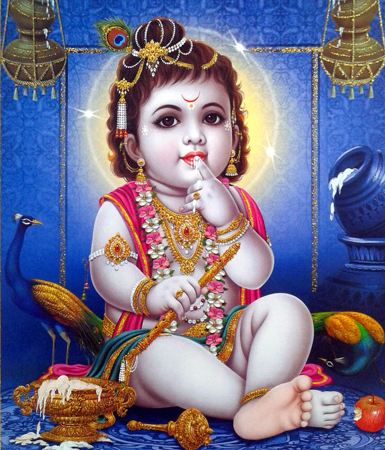Cute Child Krishna Wallpaper