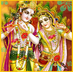 Cute Radha Krishna Photo HD