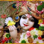 God Krishna Flute Singing Image for Phone Free