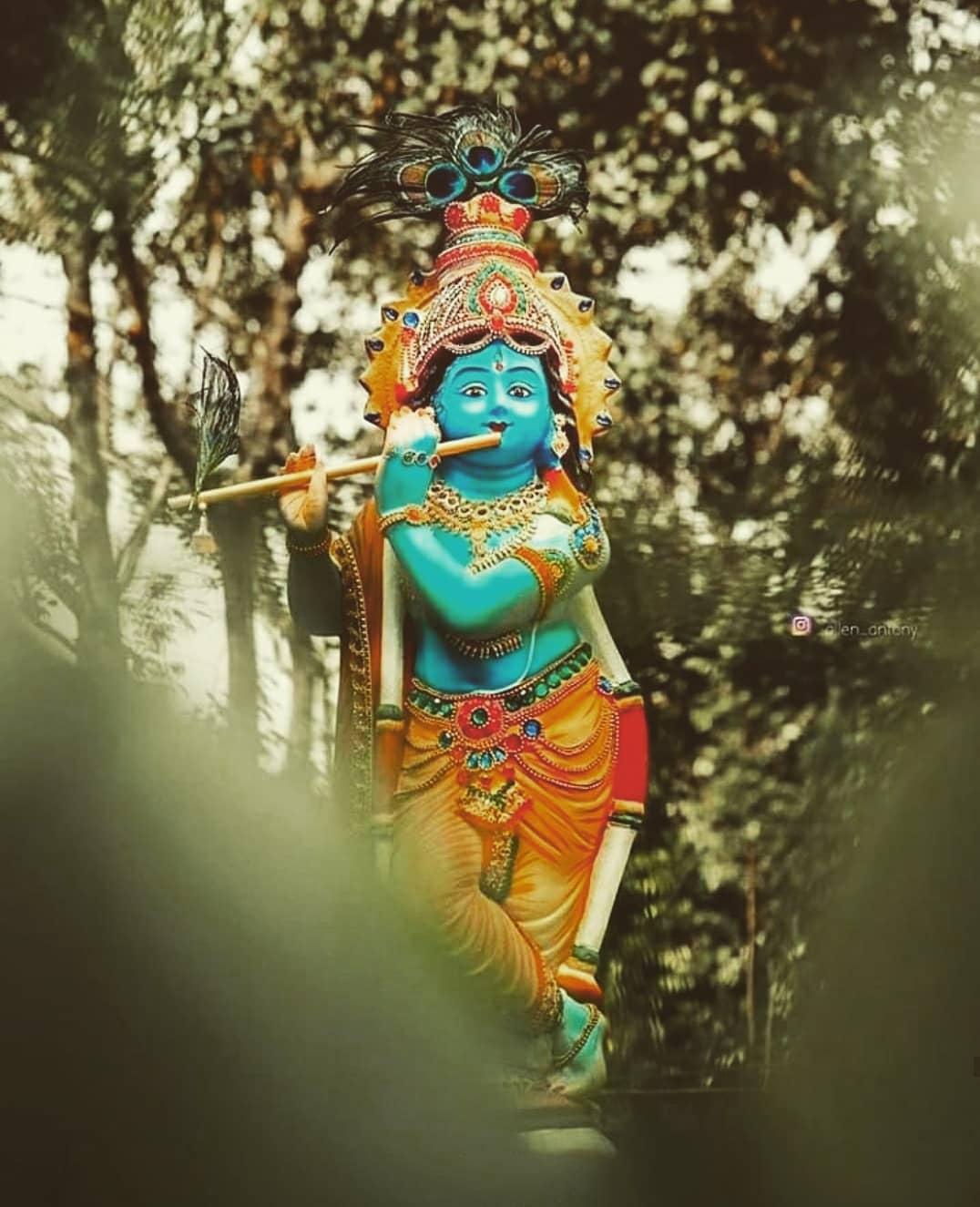 God Krishna Photo Statue of Krishna