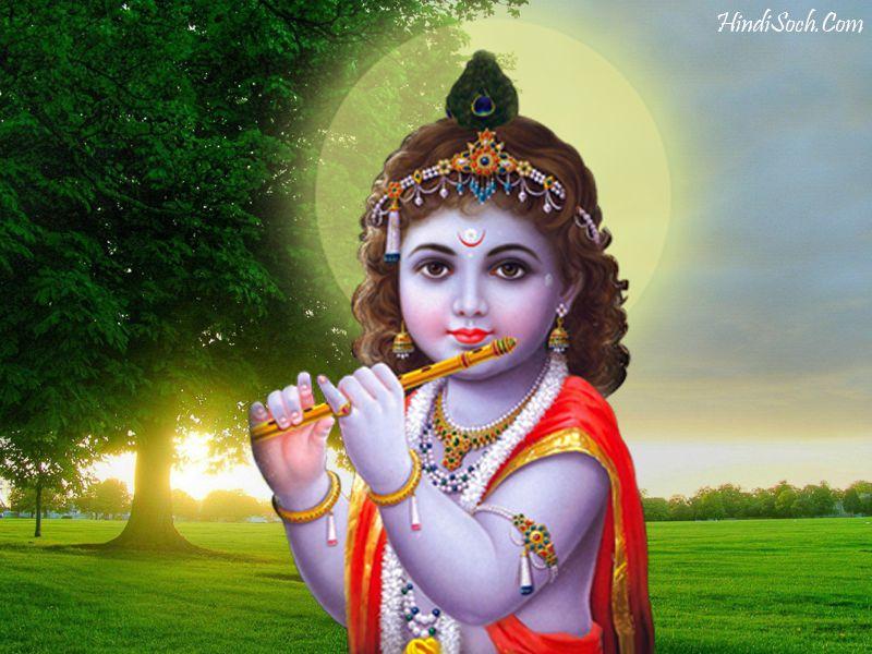 Hindu God Krishna Images