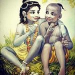 Krishna Sudama Childhood Picture