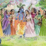 Krishna with Gopis Images