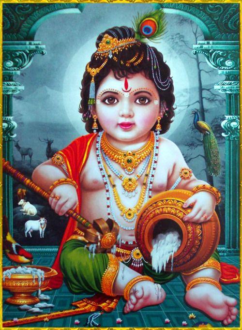 Little Krishna Bal Krishna Cute Baby Krishna Photos
