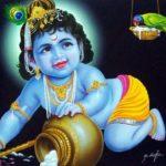 Lord Krishna Bhagwan Childhood Image