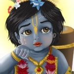 Lord Krishna Childhood Images