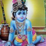 Lord Krishna Makhan Chor Images