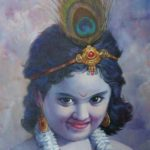 Lord Krishna Painting Images
