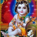 Painting of Hindu God Lord Krishna Janmashtmi Photos