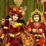 Radha Krishna Couple Wallpaper
