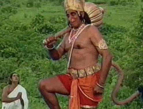 Bhim Hanuman Pauranik Kahani in Hindi
