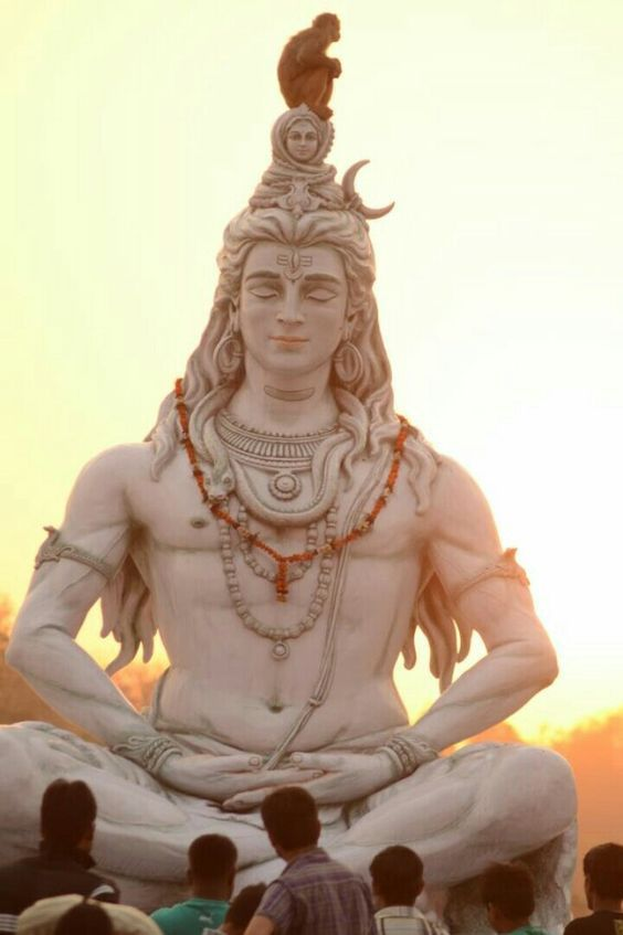 Big Grand statue of Lord Shankar Shiva Bhagwan