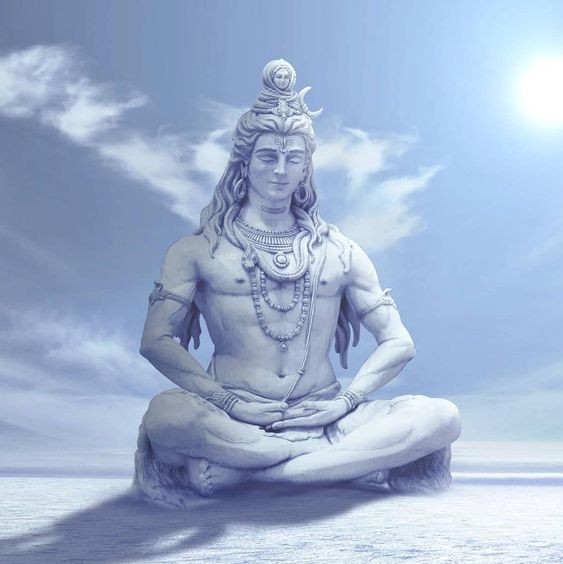 Greatest God Bhagwan Shiv Ji Huge White Statue