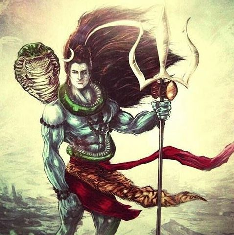 Lord Shiva Image HD Animated