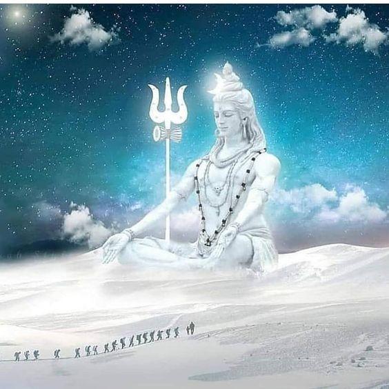 Mahakal Shiva Shankar Ji Amarnath Statue