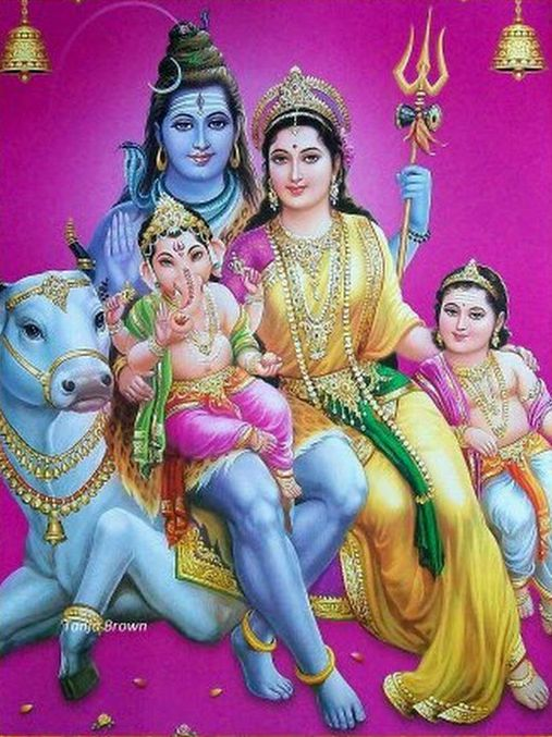 Shiv Ji Photos Full Family