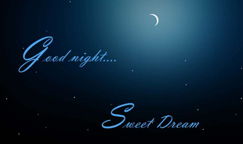 end Good Night Best SMS Wish