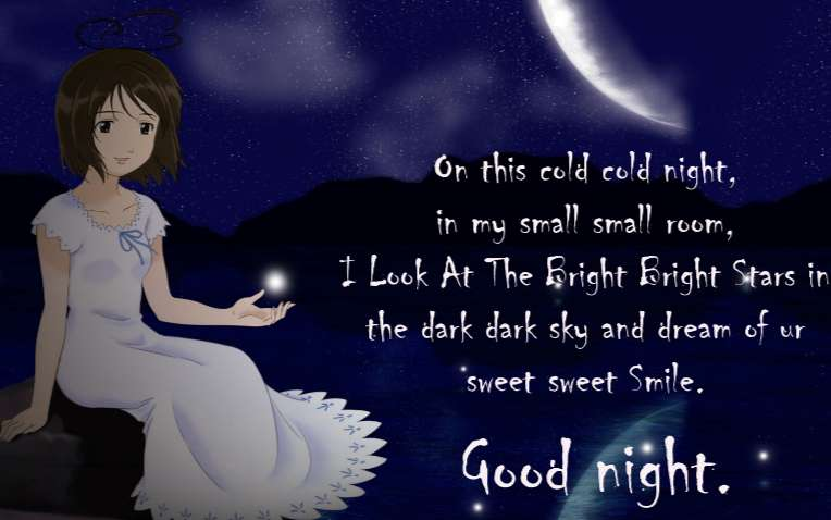 Say Good Night to Friends
