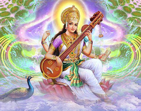 Maa Saraswati Image