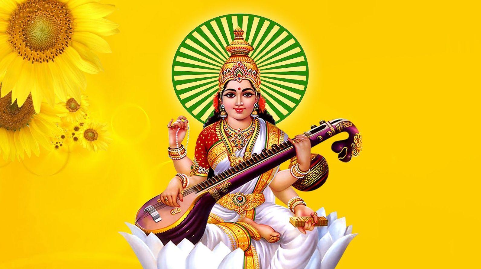 Saraswati Puja Image