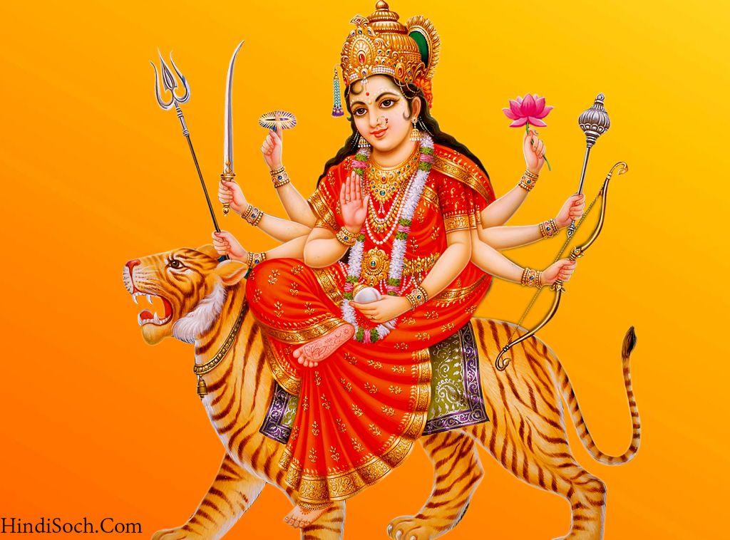 Durga Maa HD Wallpaper for Navratri Whatsapp Status Image