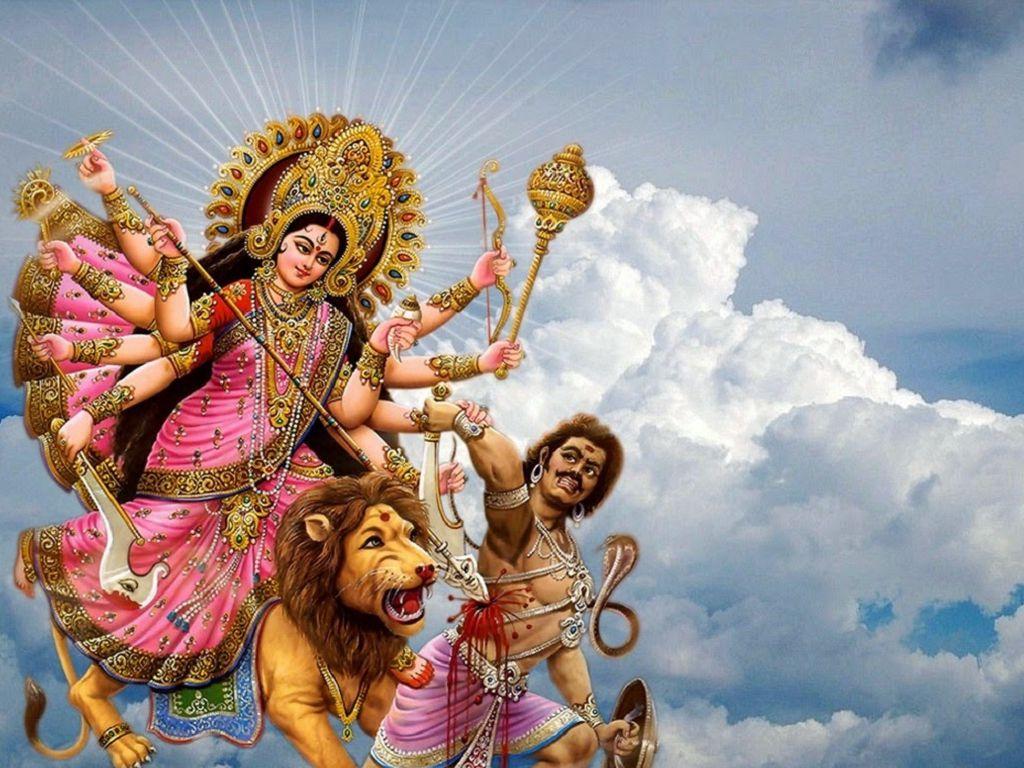 Durga Puja Hd Wallpaper: Maa Durga Image HD, Sherawali Maa Durga Wallpaper