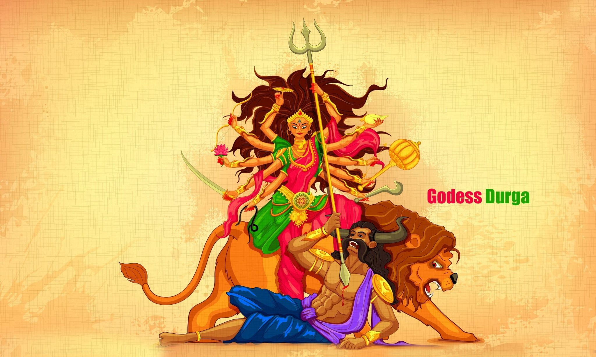 Goddess Durga HD Photo