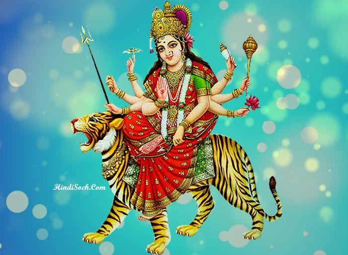 HD Maa Durga Wallpaper for Durga Jagran
