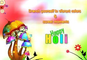 Happy Holi Sweet Pics