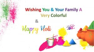 Happy Holi to Your Family Wallpapers