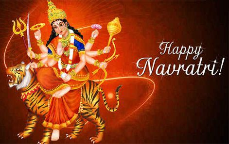 Happy Navratri Mobile Wallpapers