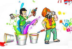 Holi Ki Masti Dhoom Images