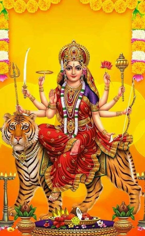 Maa Durga Shankri Nav Durga Image