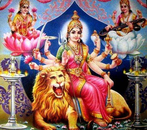 Nav Durga Photo for Mobile