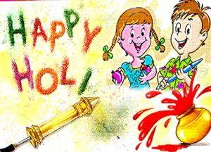 Pichkari Happy Holi Child Images