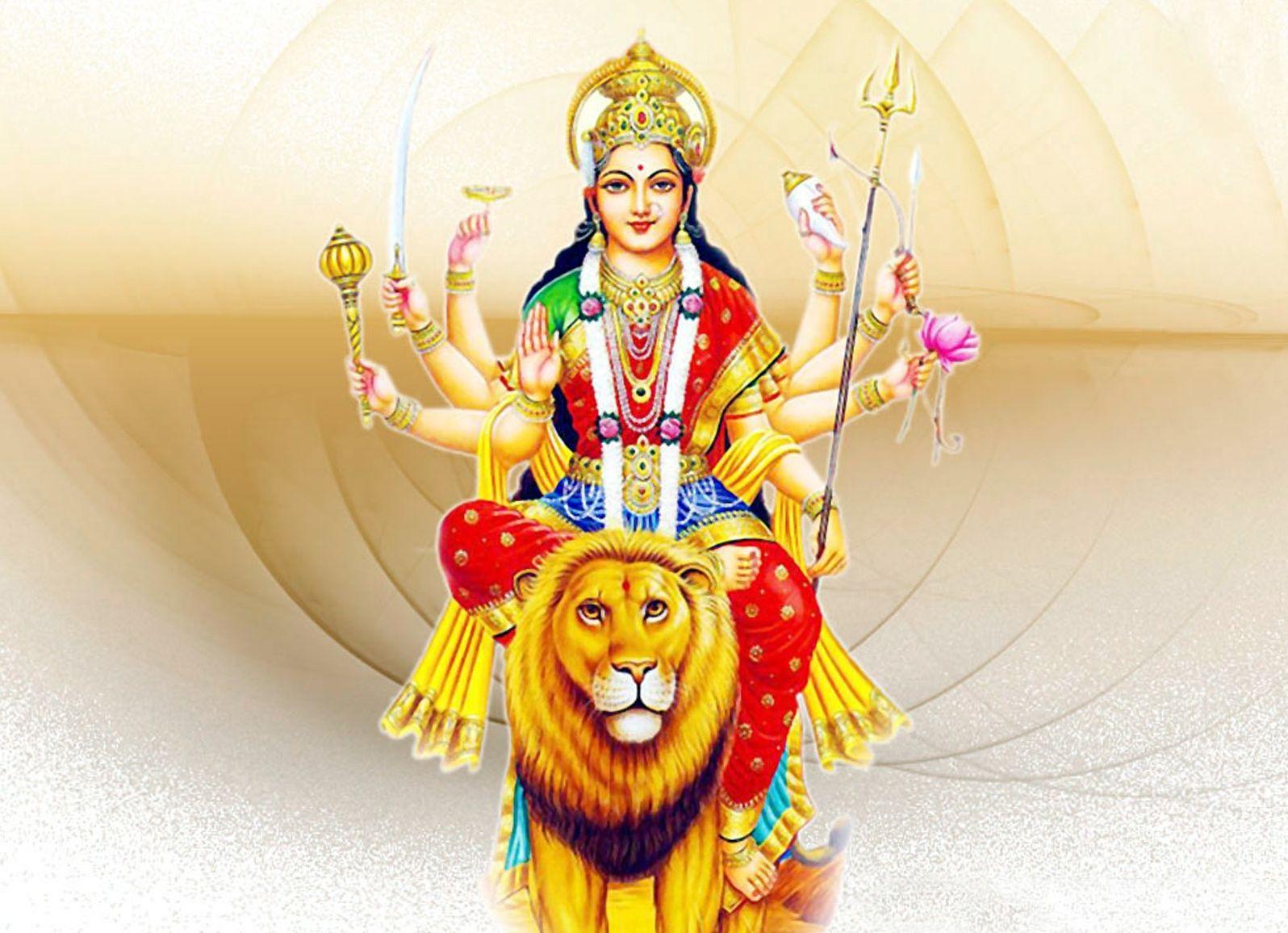 Sherawali Durga Mata Wallpaper