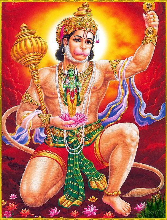 Pavatsut Hanuman Ki Jai Bajrangbali Hanuman HD Image