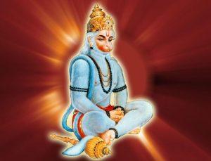 Praying Hanuman Baba Pictures