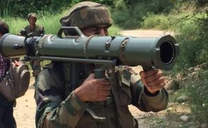 Bhartiya Sena with Rocket Launcher