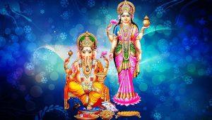 HD Wallpapers Laxmi Ganesha